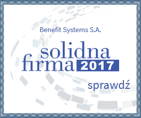 certyfikat benefit systems